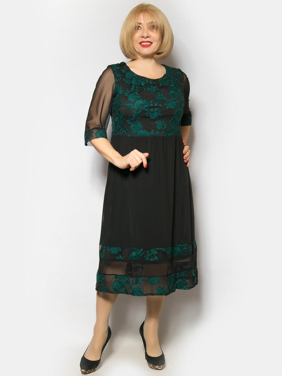 Платье зеленое   4827324