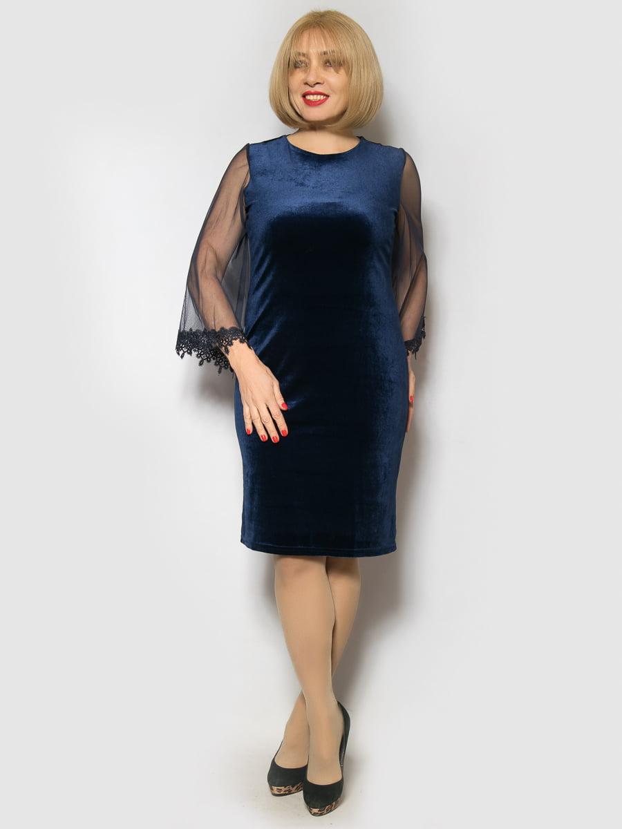 Сукня темно-синя | 4827392