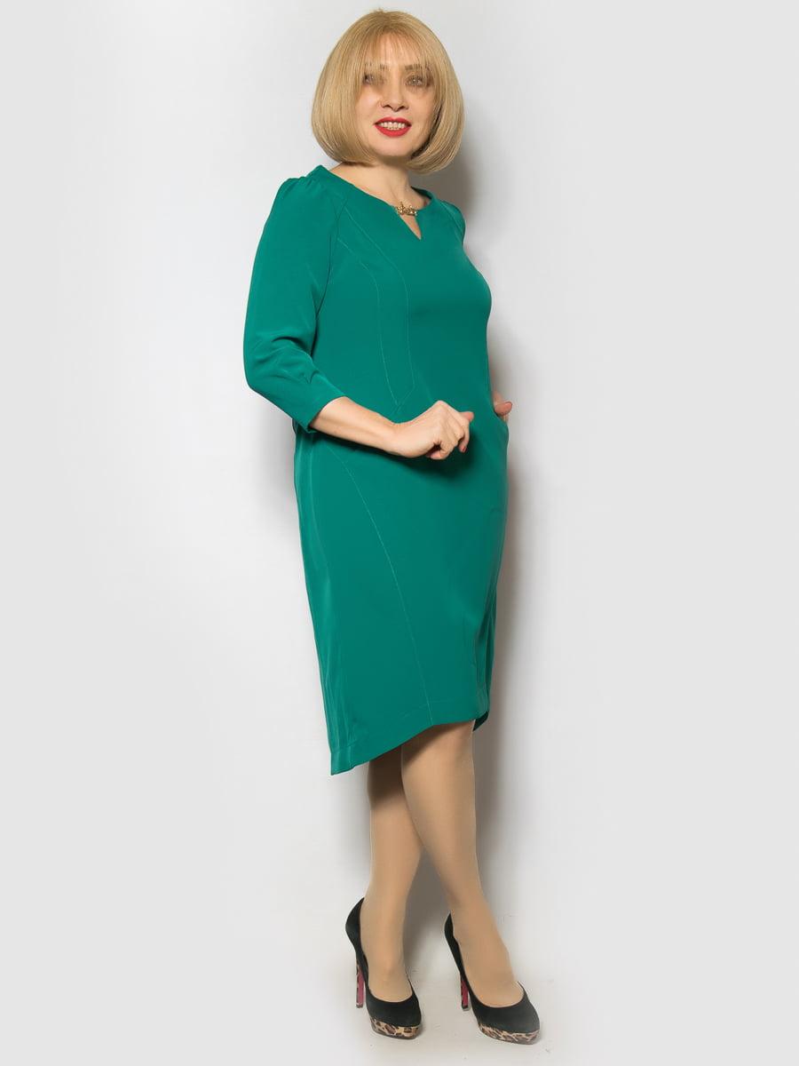 Платье зеленое | 4827401