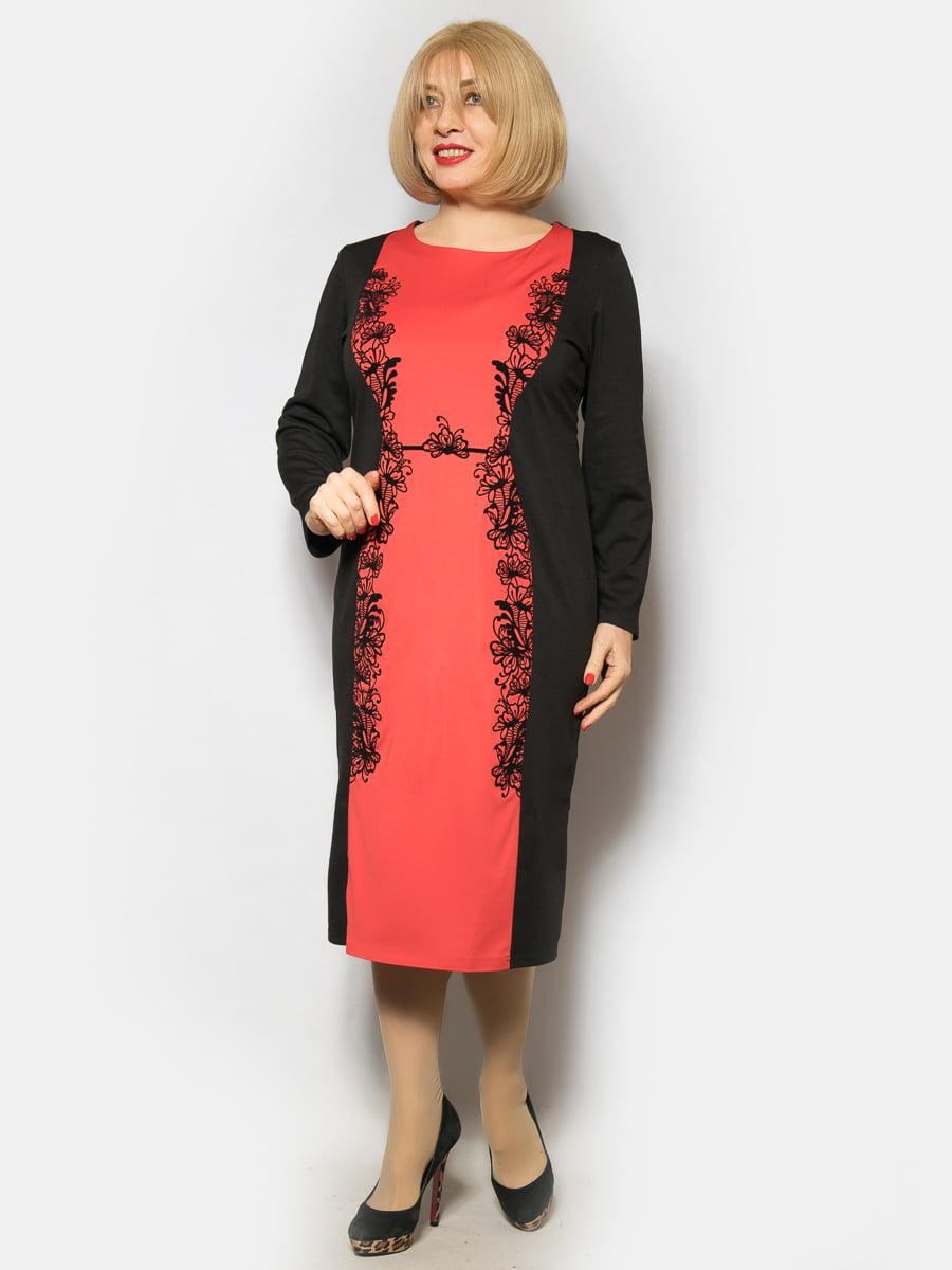 Платье двухцветное | 4827416