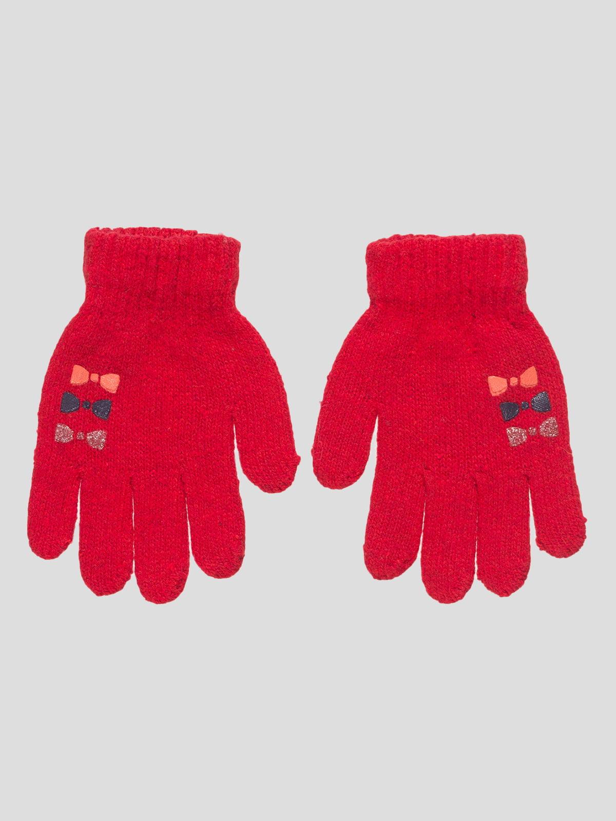 Перчатки красные | 4808920