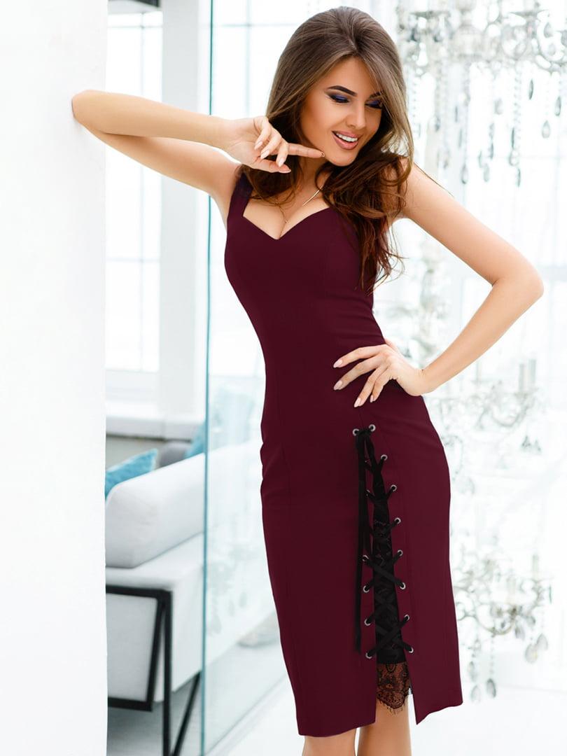 Платье фиолетовое   4726402