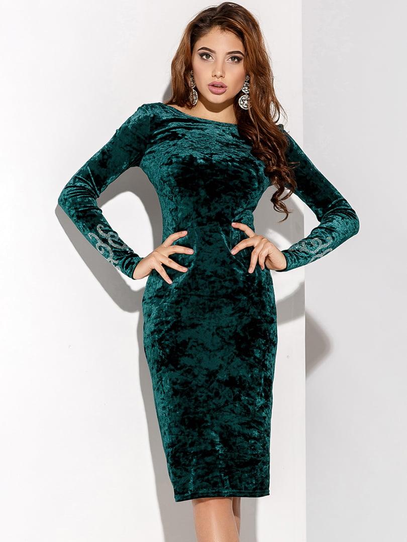 Платье зеленое | 4827942