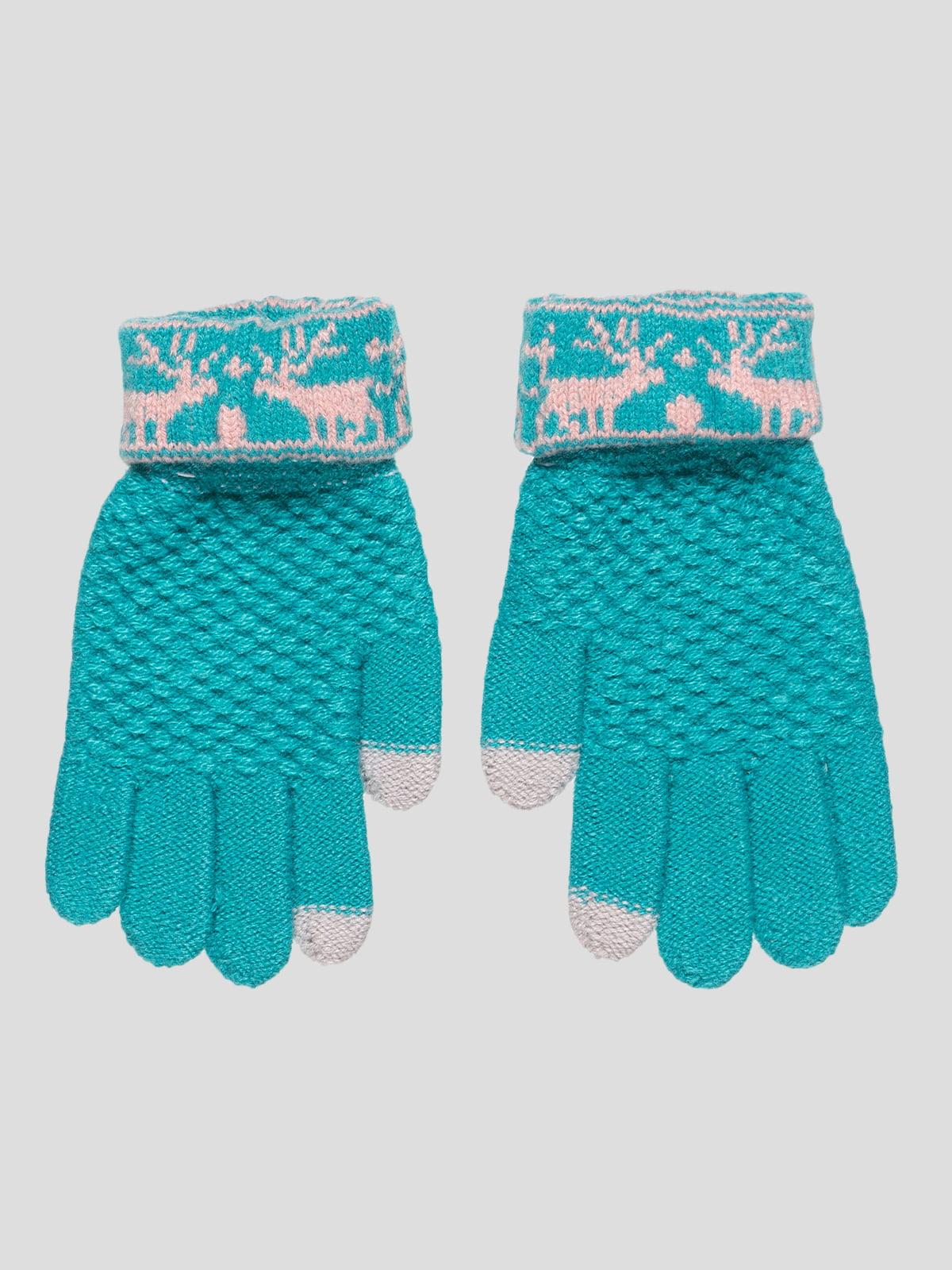 Перчатки зеленые   4808966