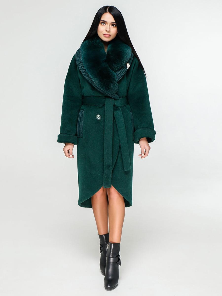 Пальто зеленое   4828138