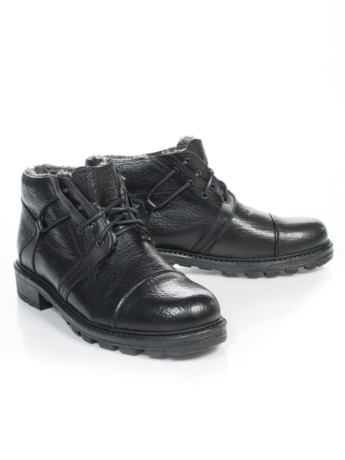 Ботинки черные   4826628