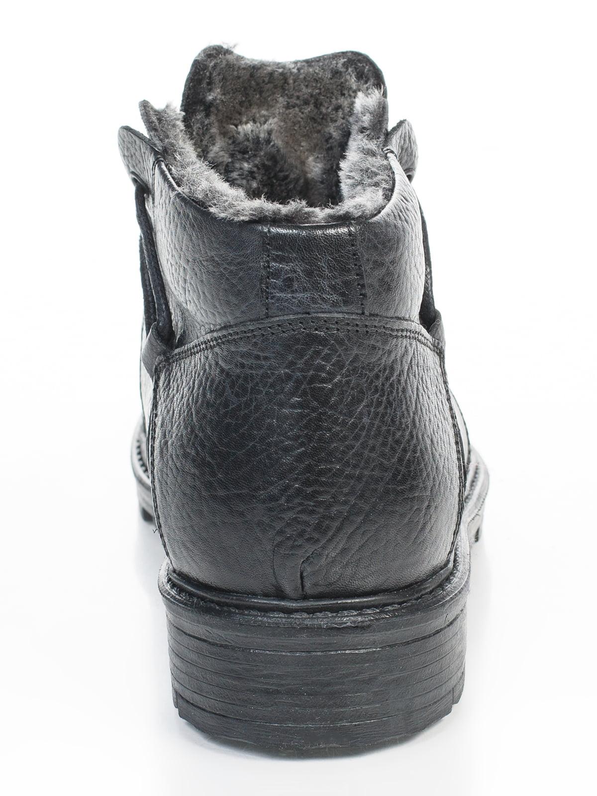 Ботинки черные   4826628   фото 4