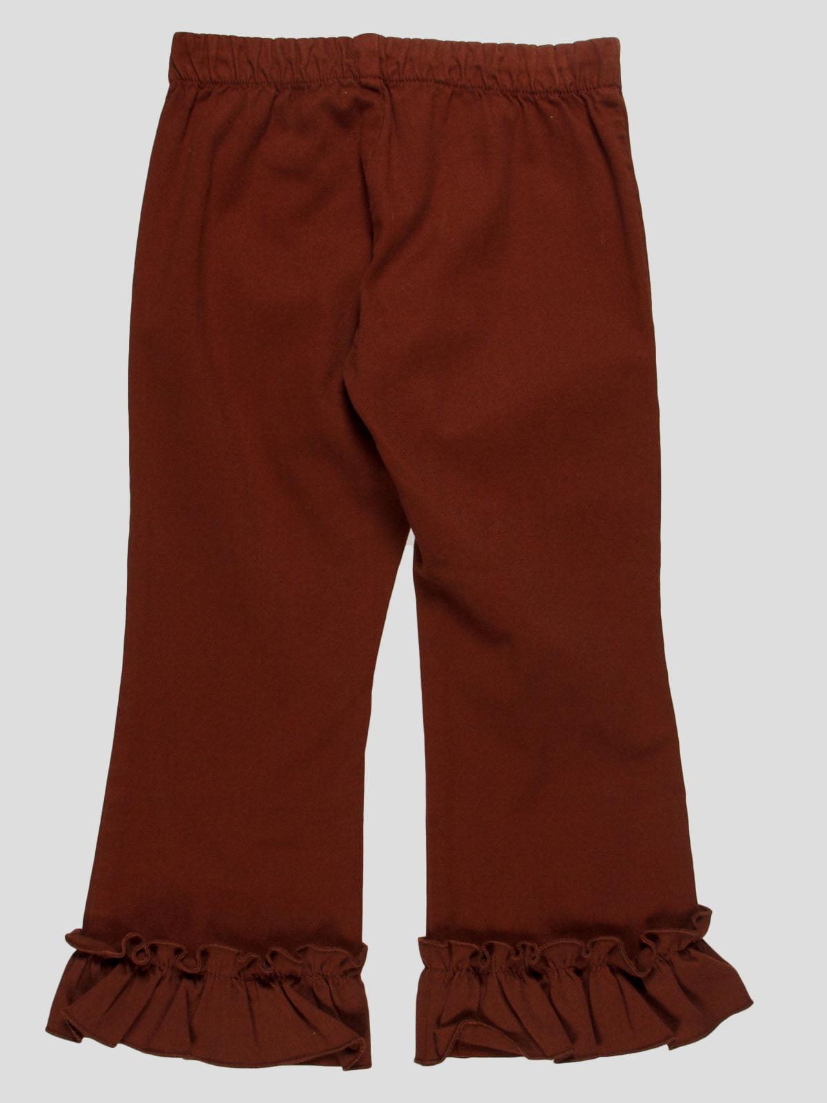 Штани коричневі | 4825933 | фото 2