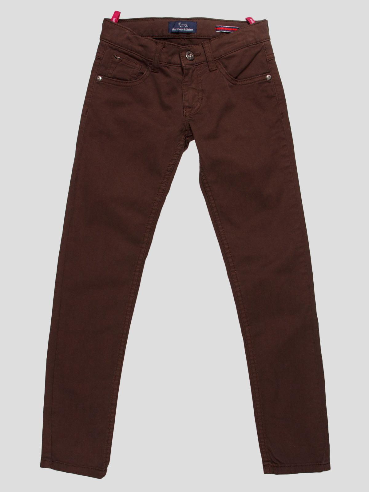 Штани коричневі | 4808693