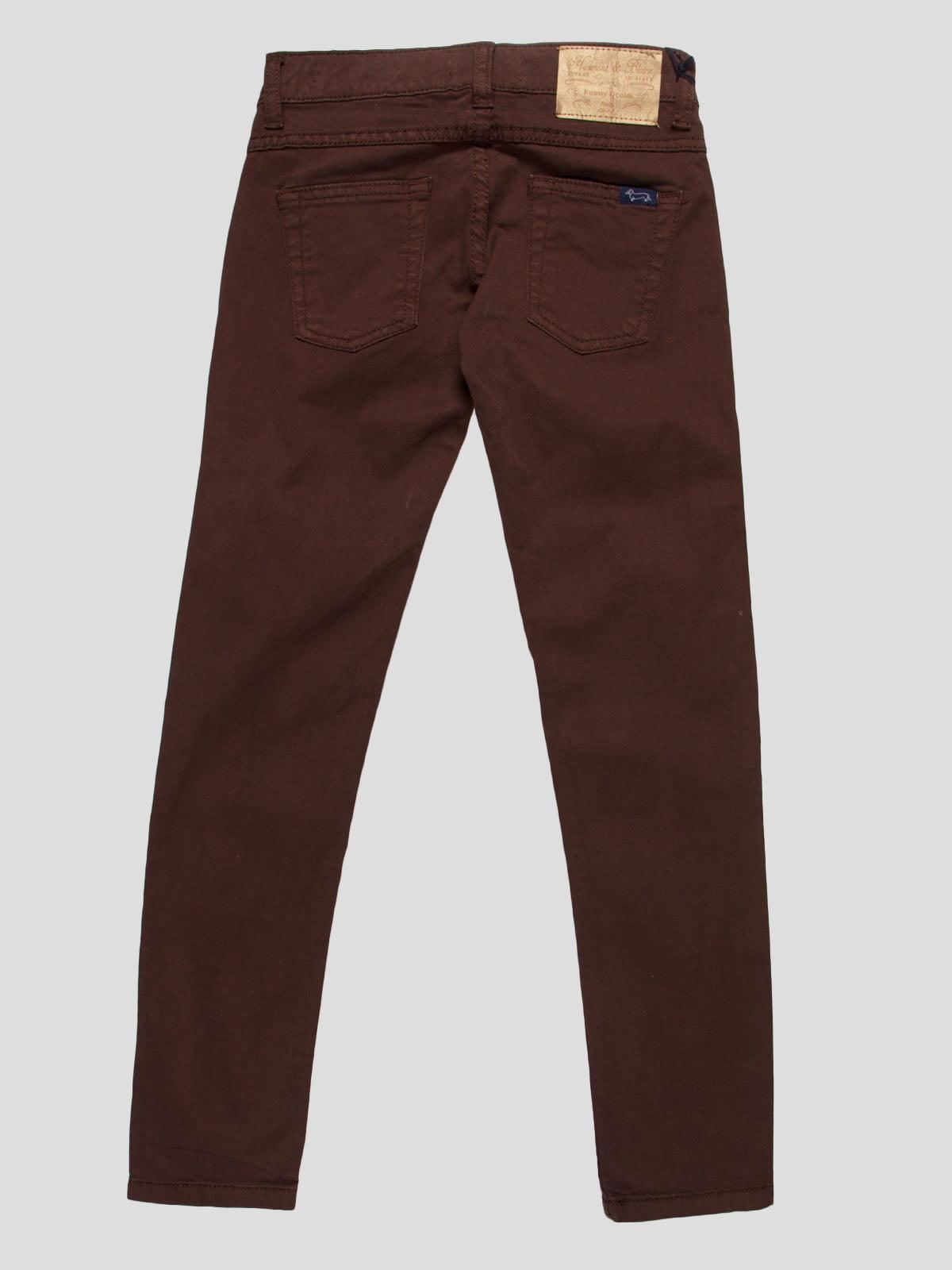 Штани коричневі | 4808693 | фото 2