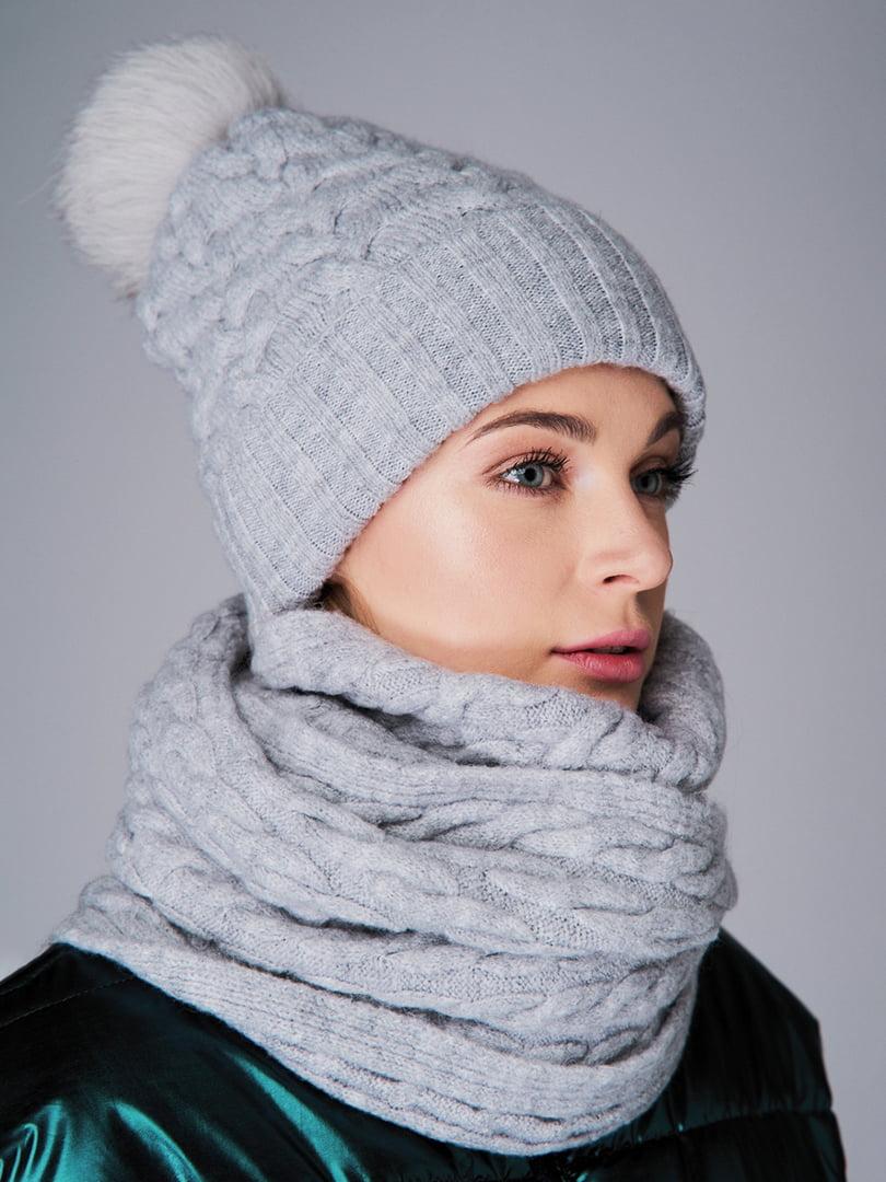Комплект: шапка і снуд   4821173