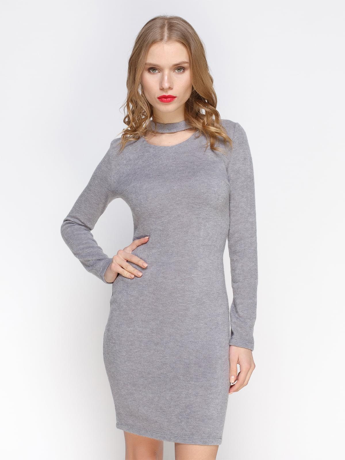 Сукня сіра | 3098643