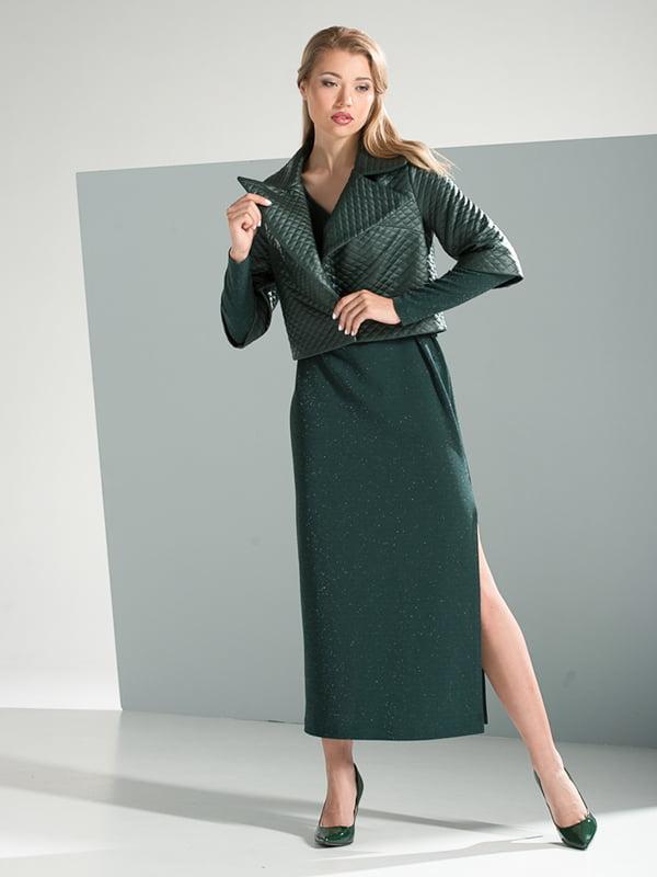 Сукня смарагдового кольору | 4437786