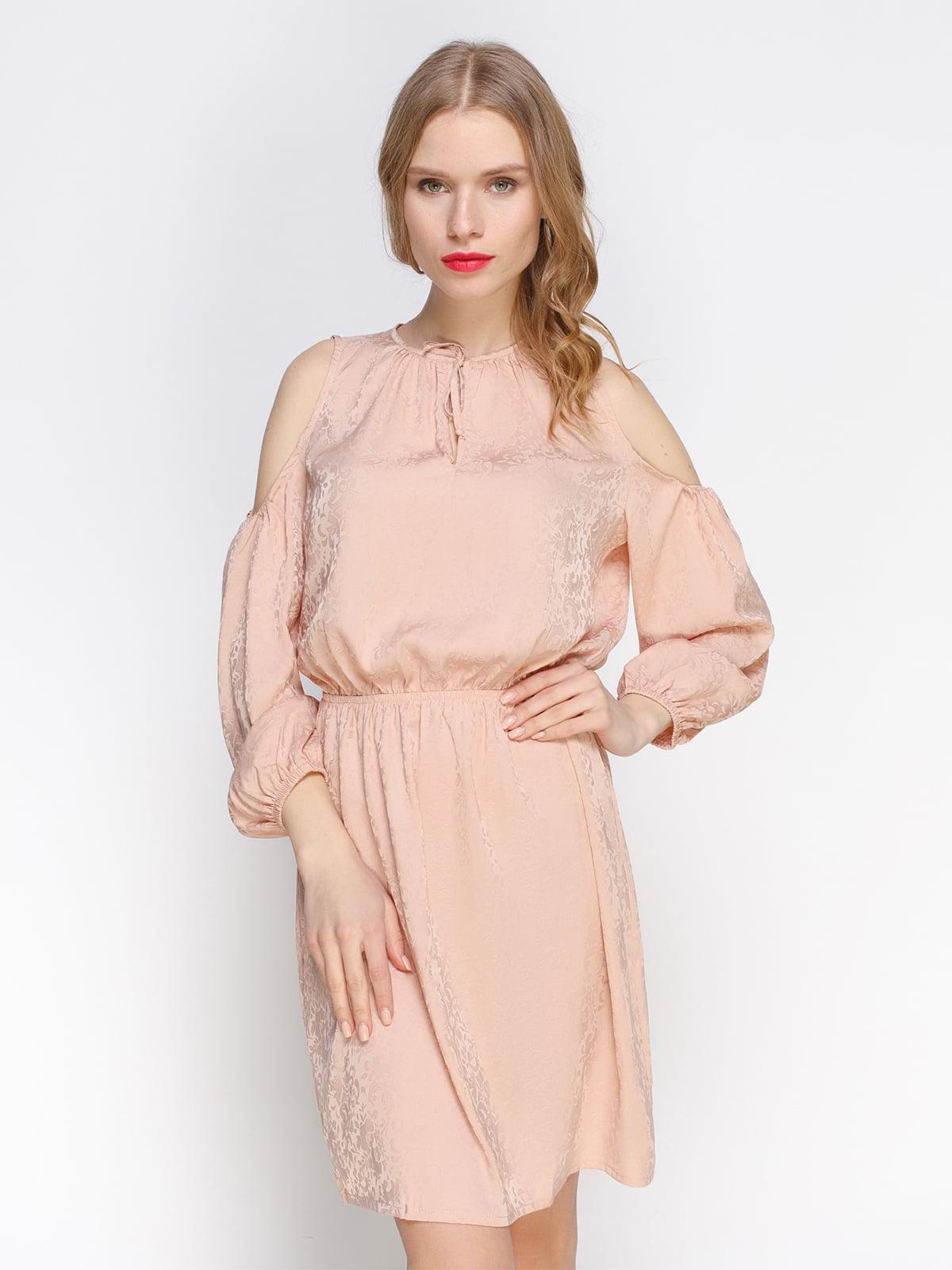 Платье бежевое | 3155113