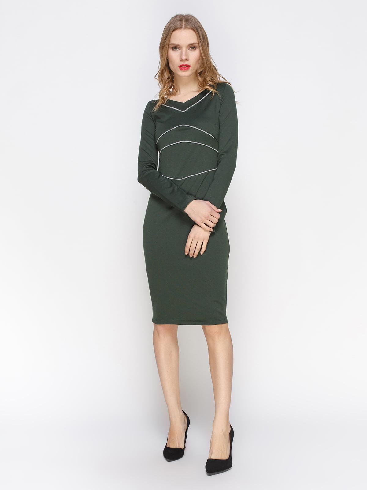 Сукня темно-зелена | 2757711