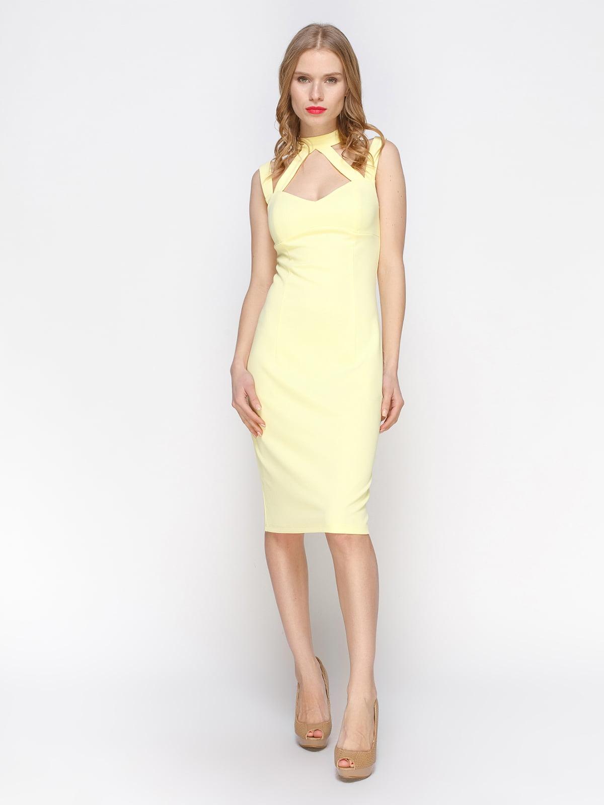 Сукня жовта | 3098645