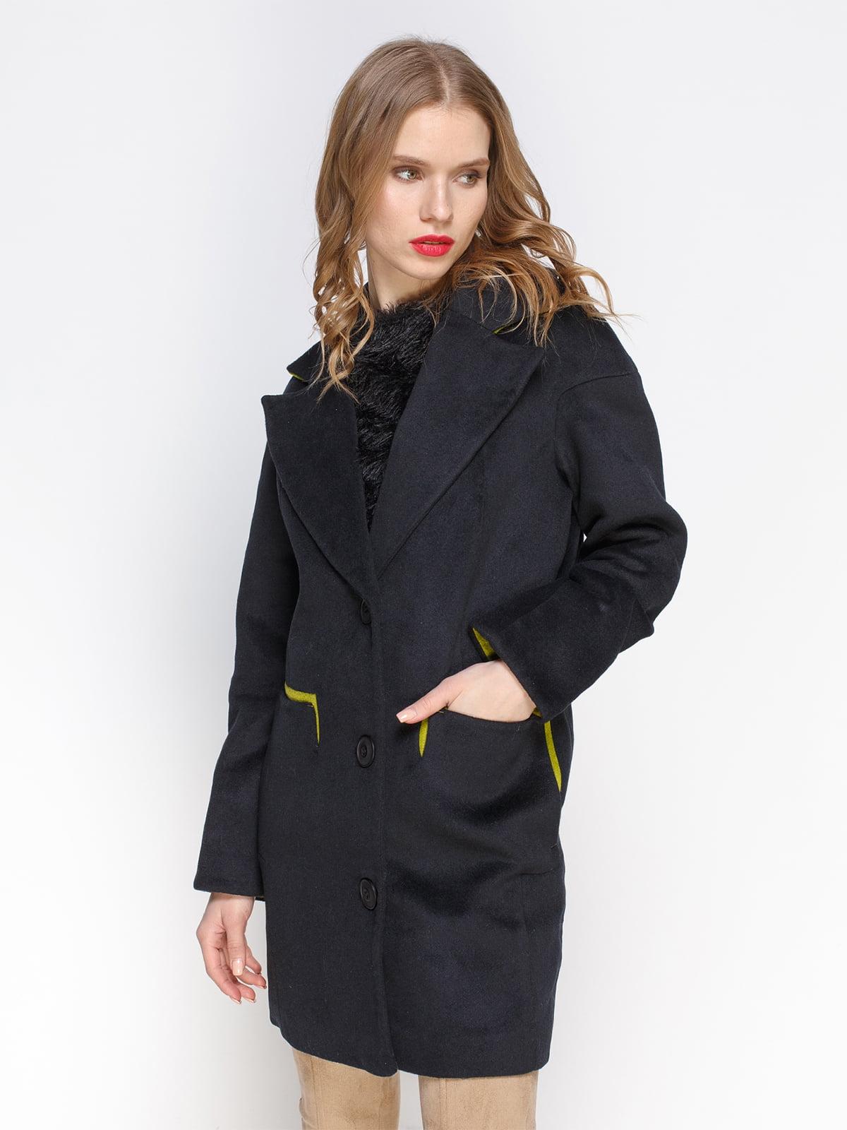 Пальто чорне | 2127870