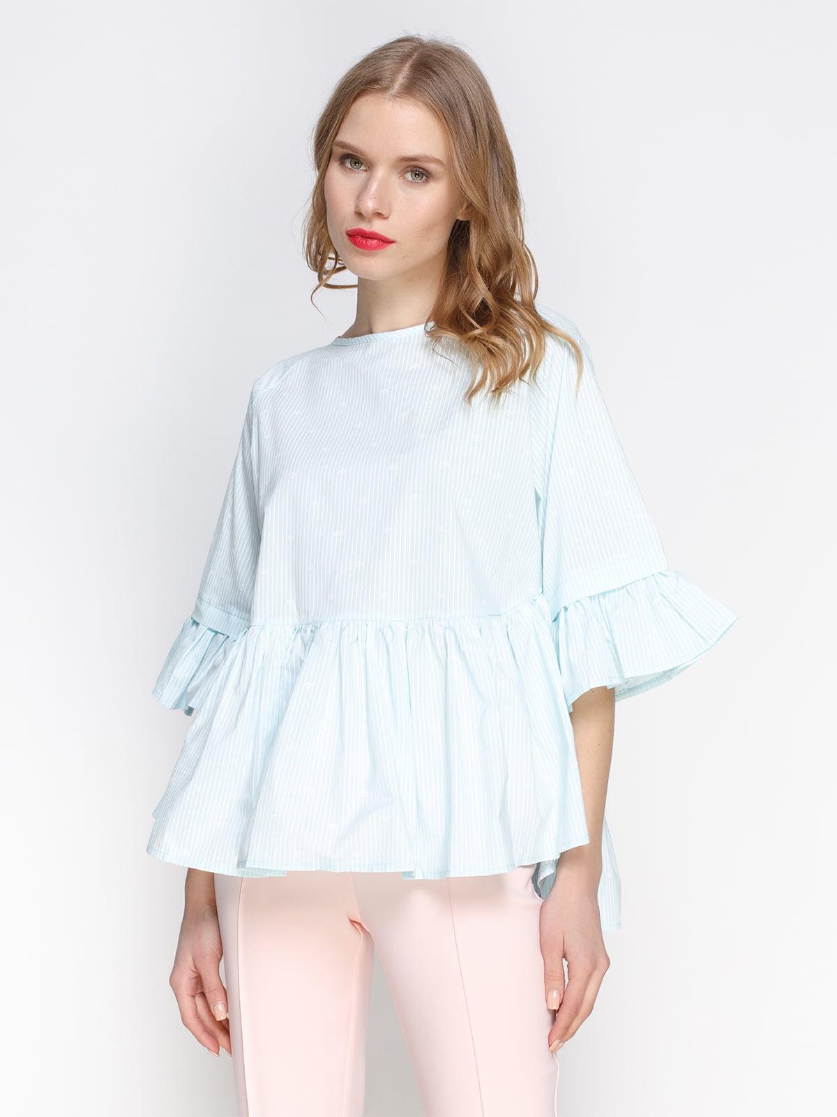 Блуза блакитна   3155100