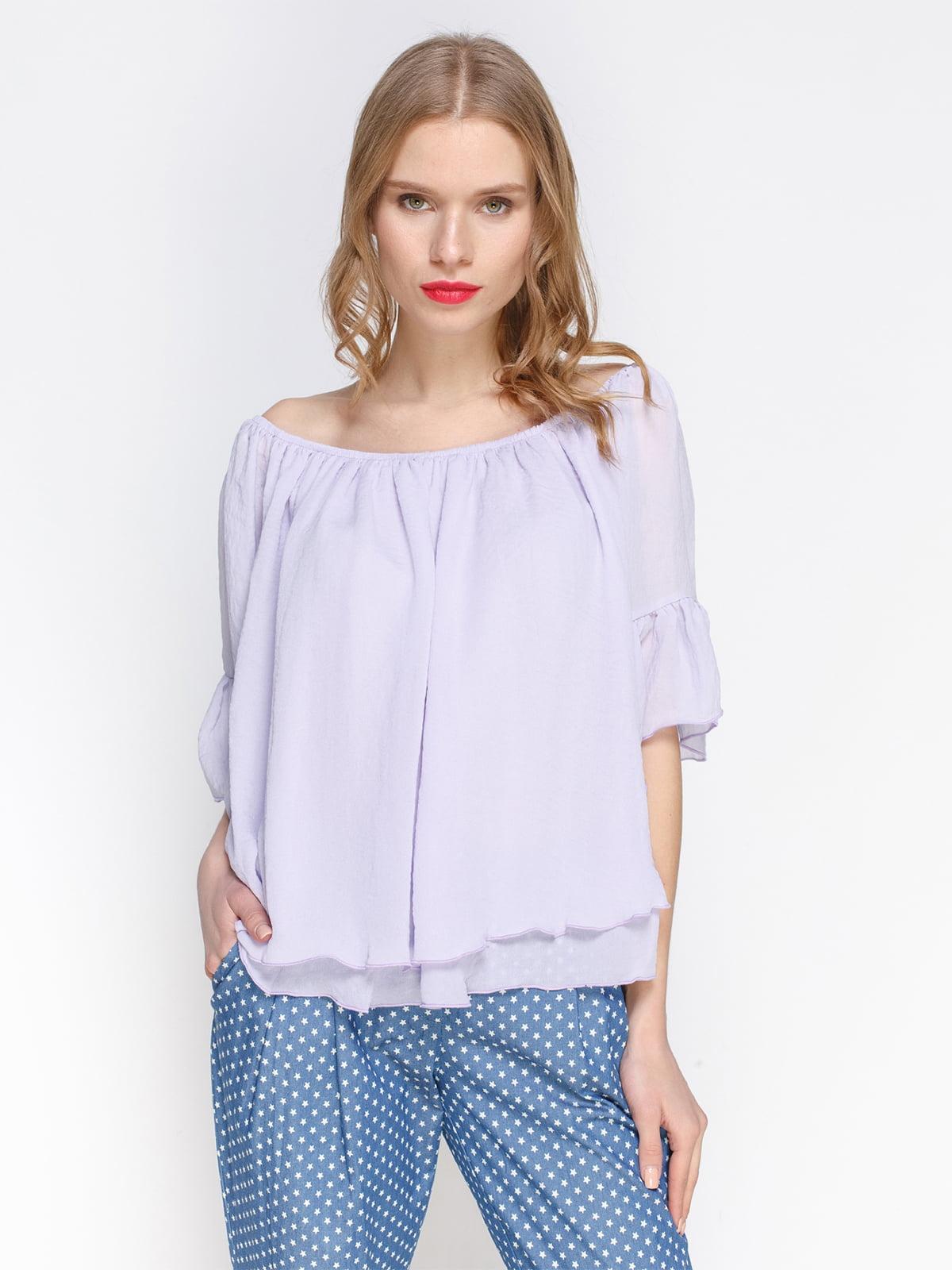 Блуза бузкова | 3155096