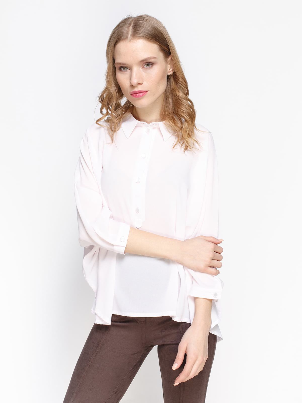 Блуза светло-розовая | 2981624