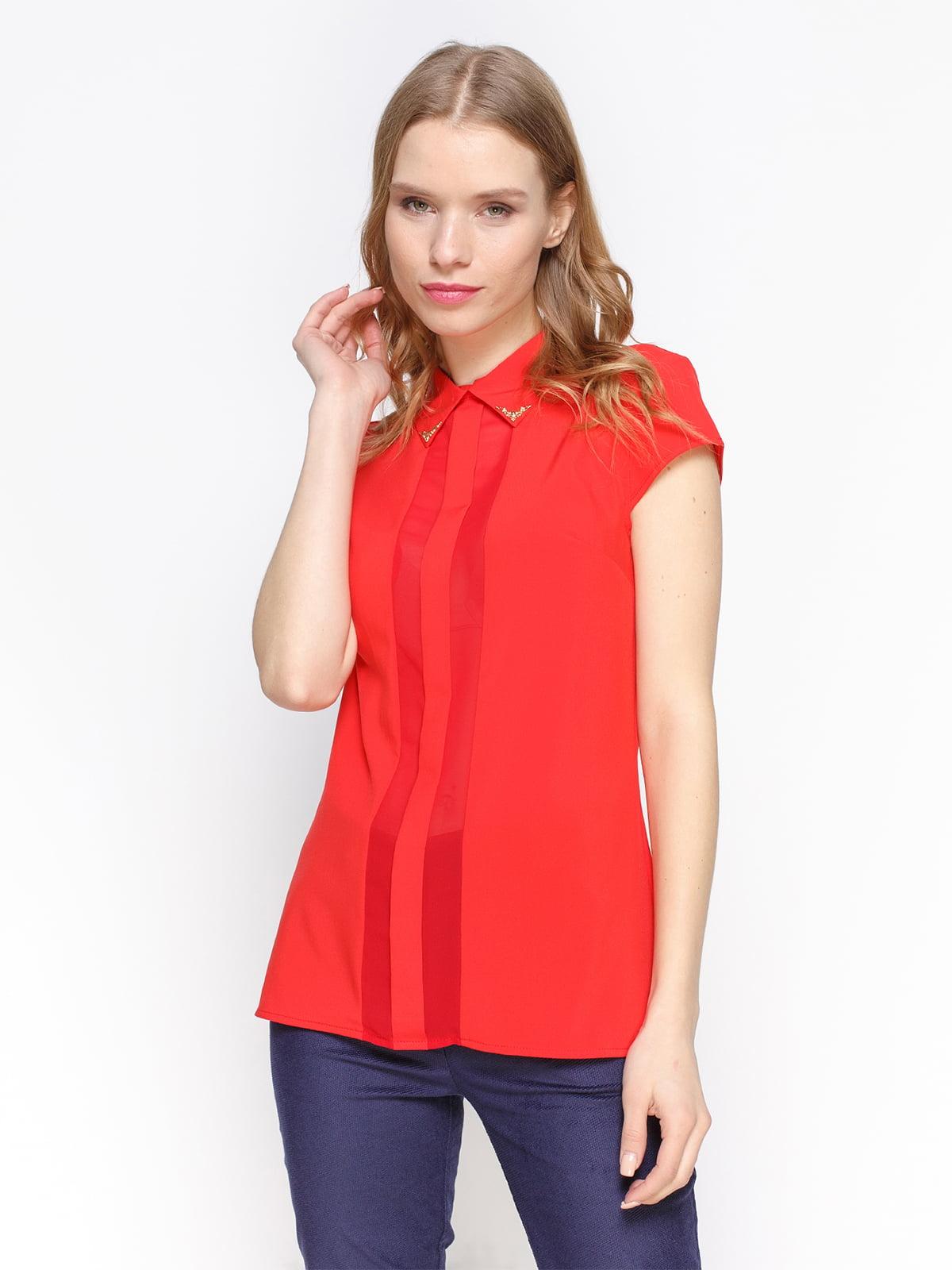 Блуза червона | 2298207