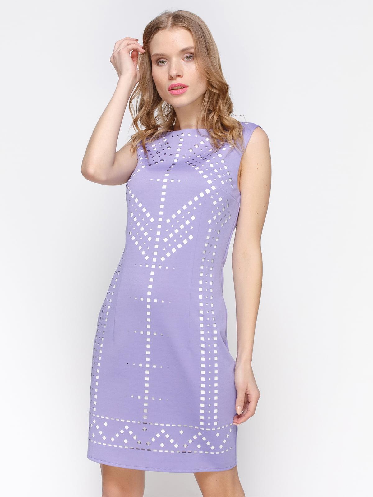Платье сиреневое | 2298189