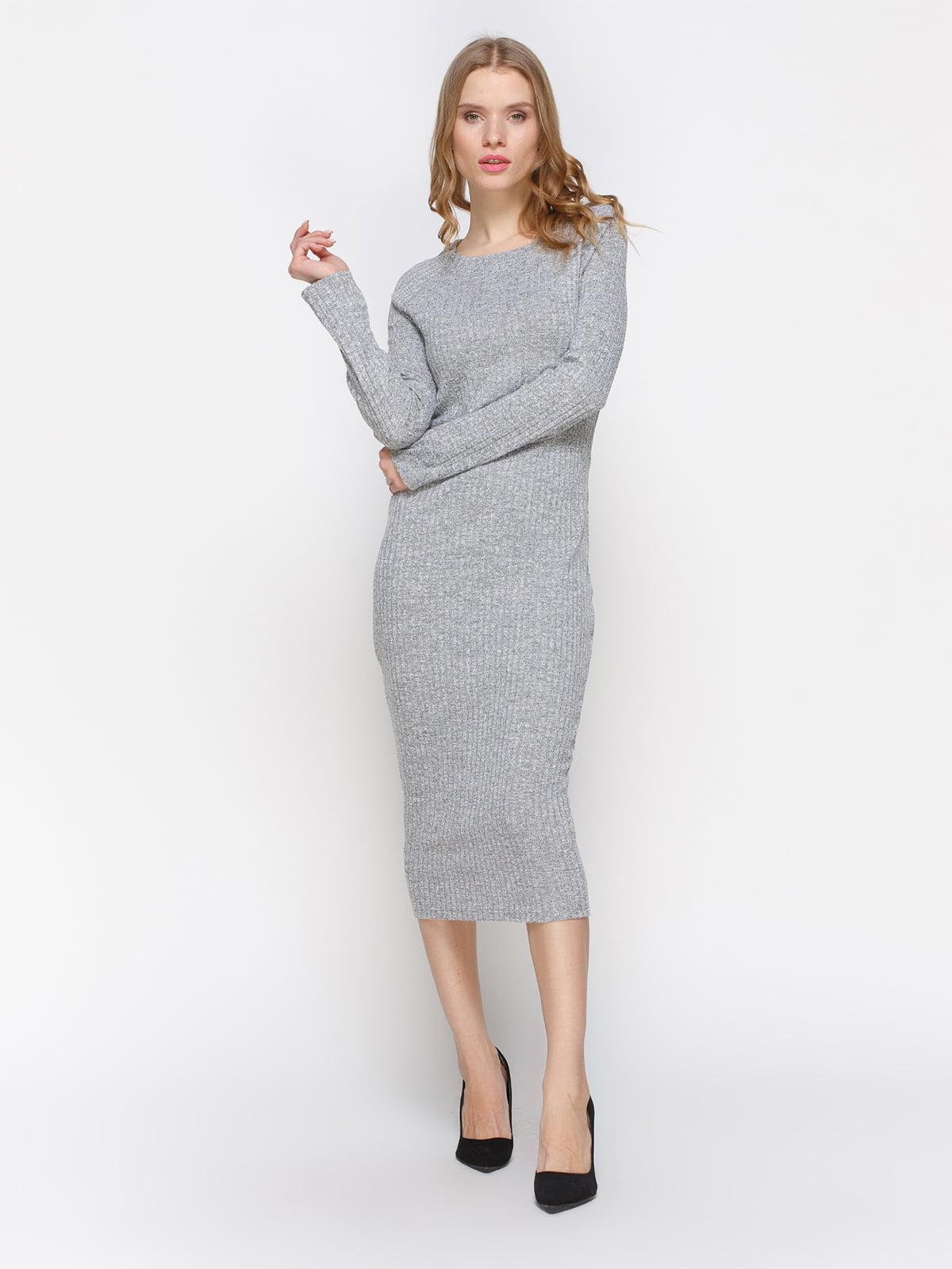 Платье светло-серого цвета | 3657005