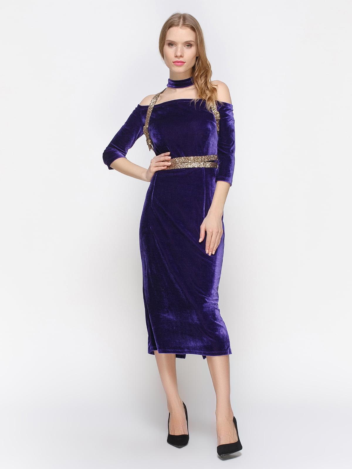 Сукня фіолетова | 2832707