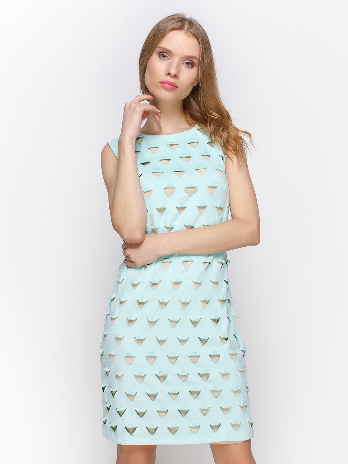 Сукня м'ятного кольору | 2194288