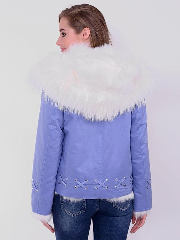 Куртка голубая | 4834501 | фото 2