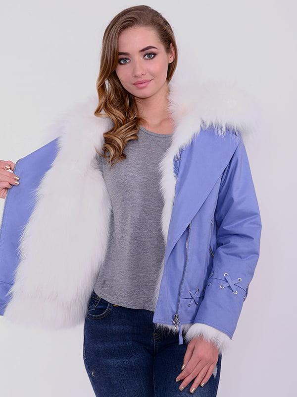 Куртка голубая | 4834501 | фото 3