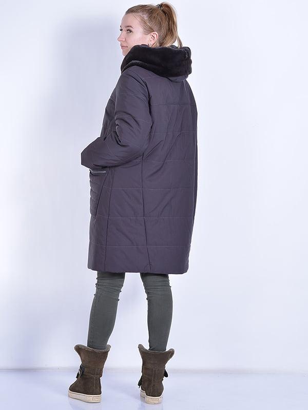Пальто шоколадного цвета | 4834506 | фото 3