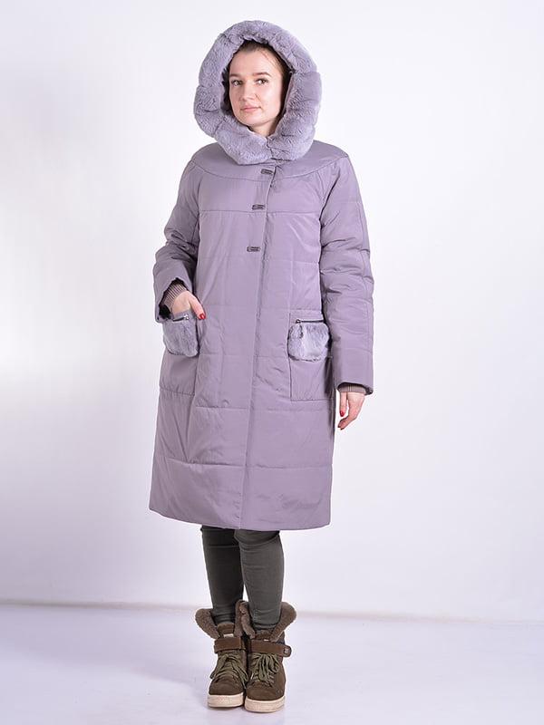 Пальто пудрового цвета | 4834512