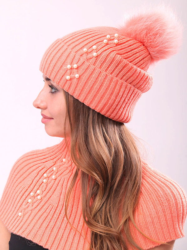 Комплект: шапка и манишка   4834533