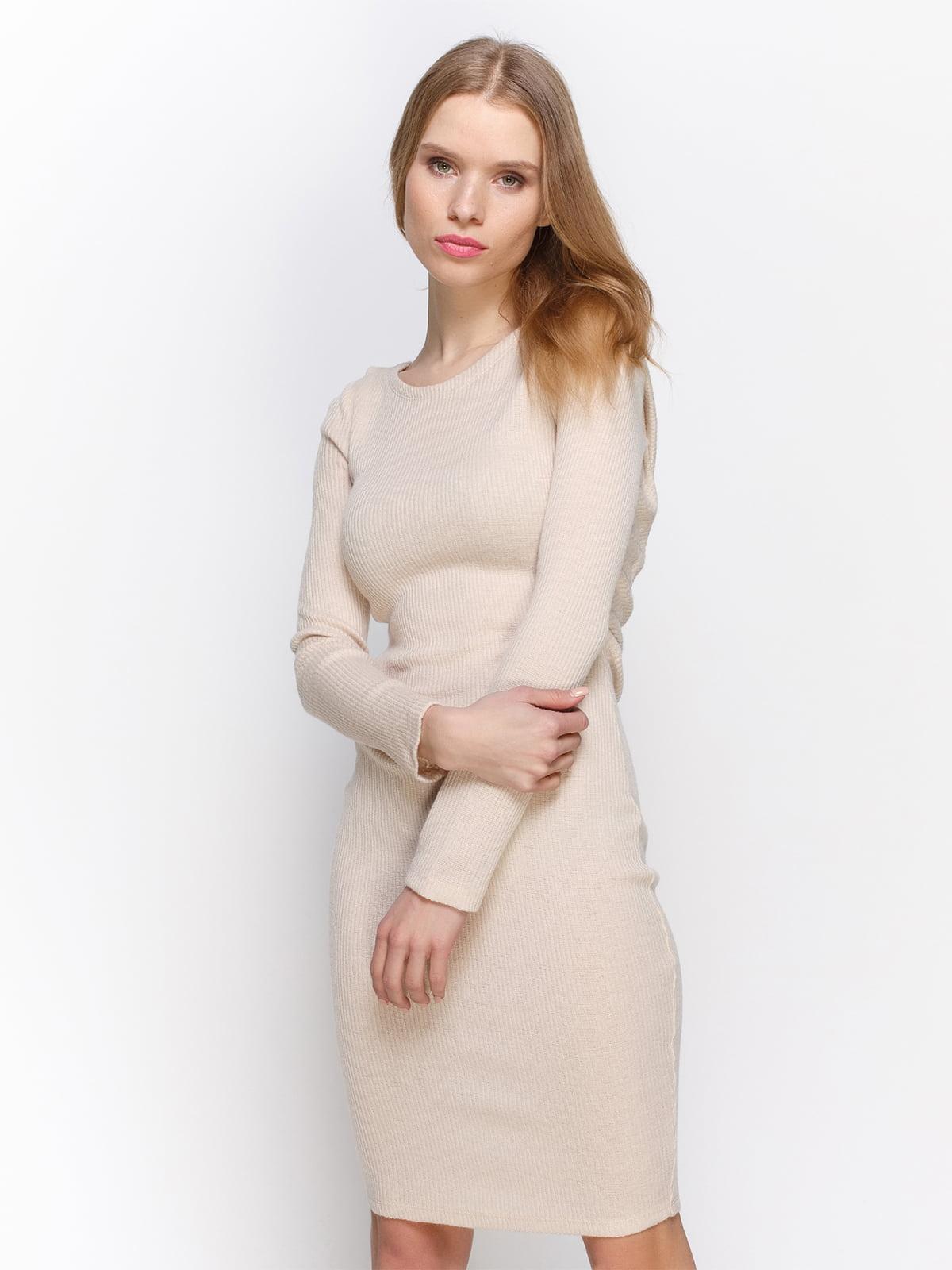 Сукня кольору пудри | 2981653