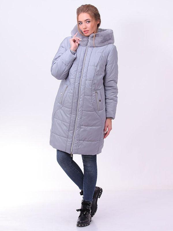 Пальто серое | 4834511