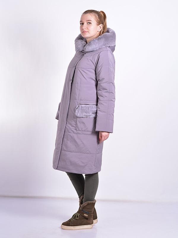Пальто пудрового цвета | 4834512 | фото 3