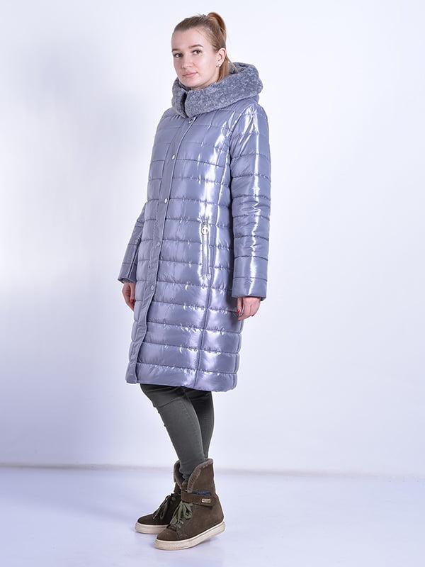 Пальто серое | 4834519 | фото 2