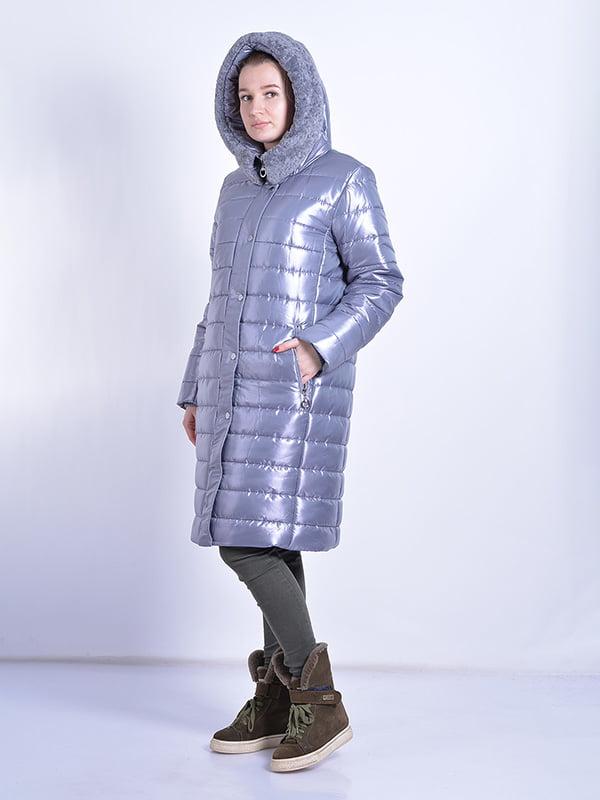 Пальто серое | 4834519 | фото 4
