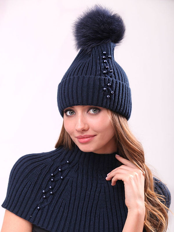 Комплект: шапка и манишка | 4834531