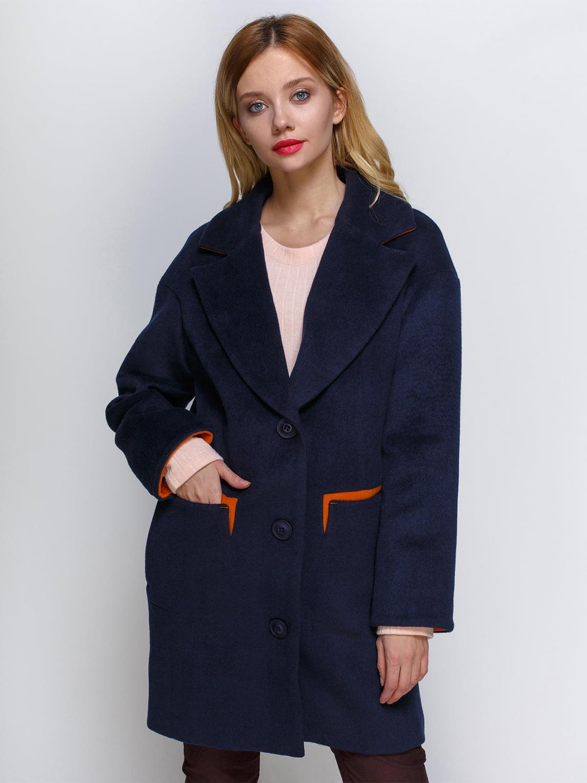Пальто синє | 2127872