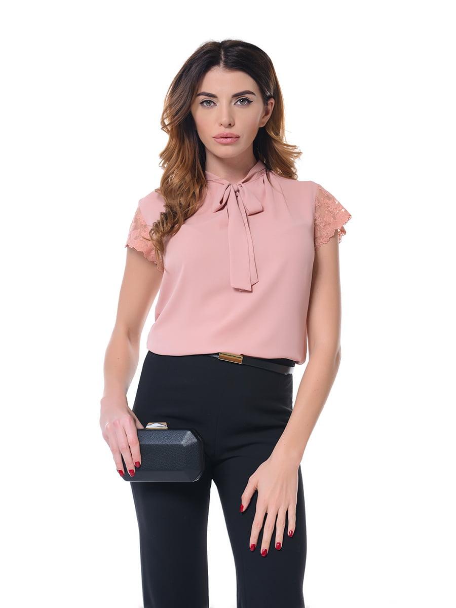 Блуза розовая   4836621