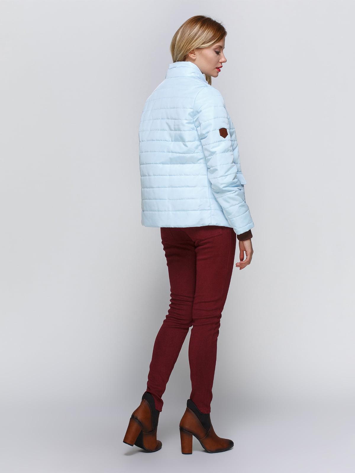 Куртка голубая | 2127866 | фото 3