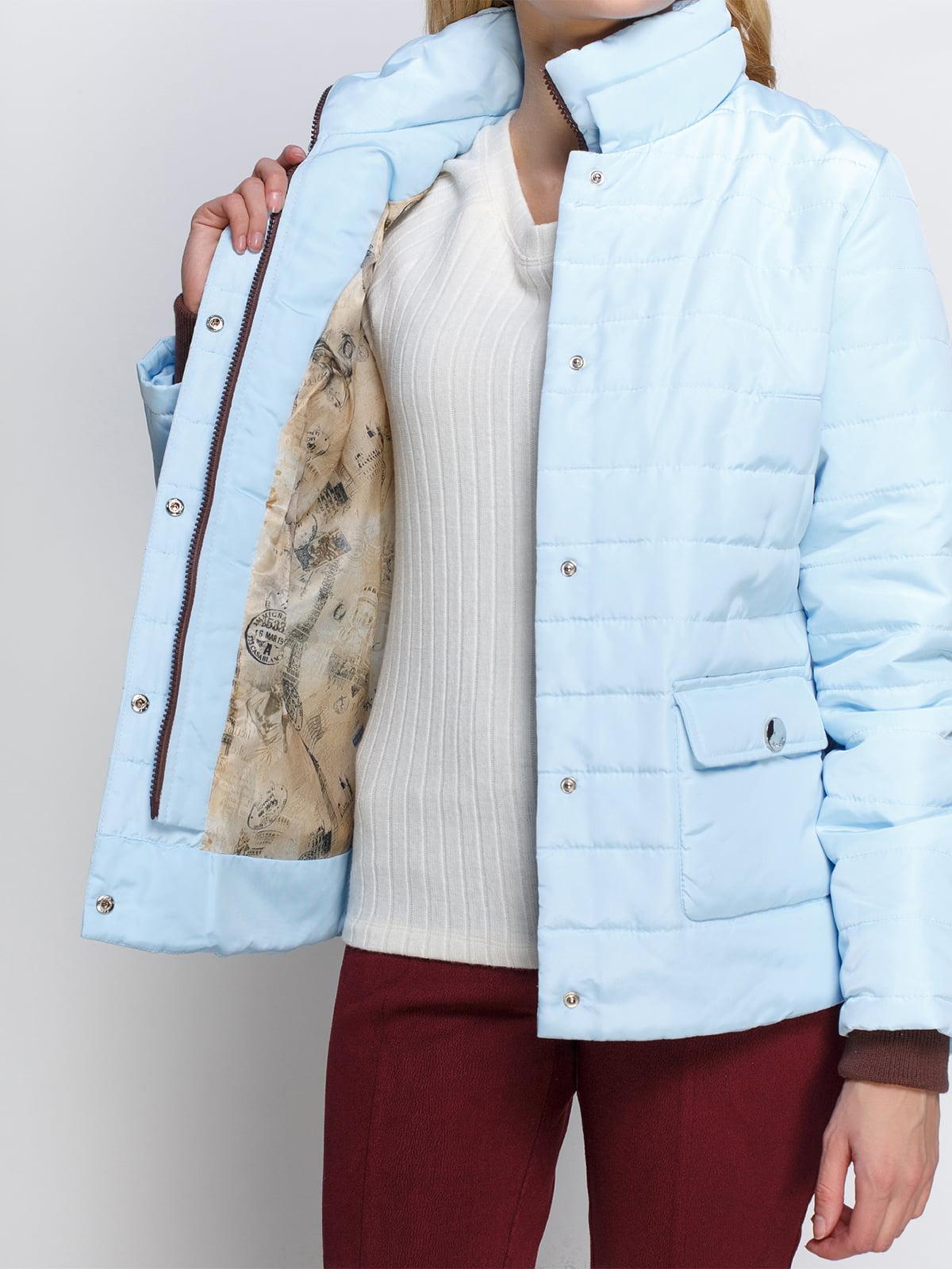 Куртка голубая | 2127866 | фото 4