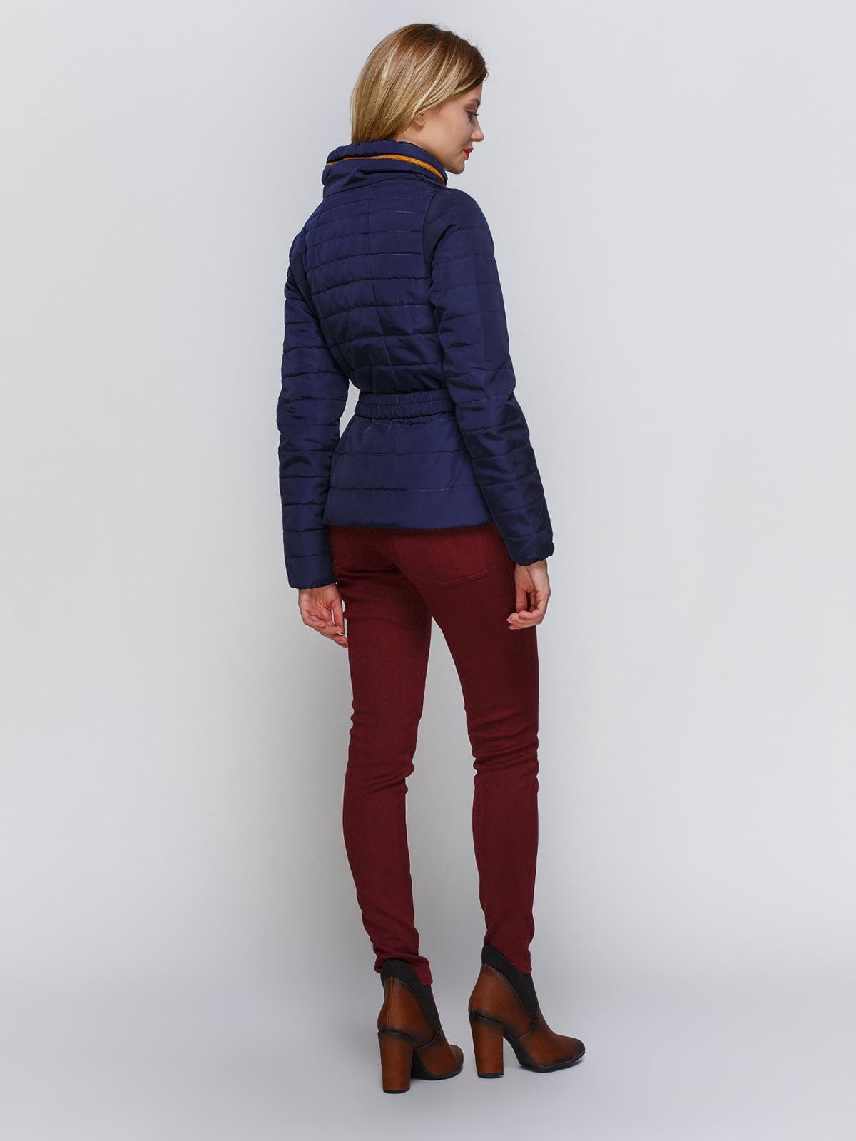 Куртка темно-синяя   2127860   фото 3