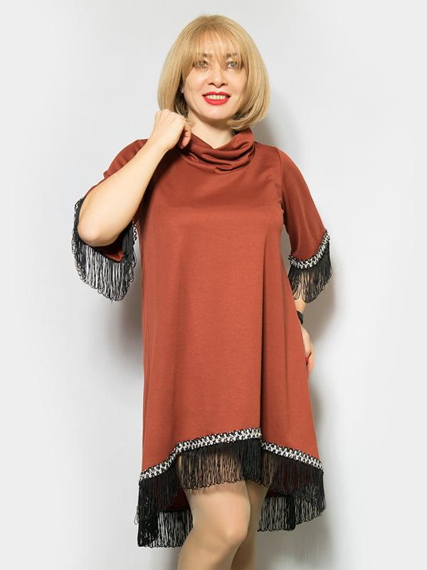 Сукня коричнева | 4839495