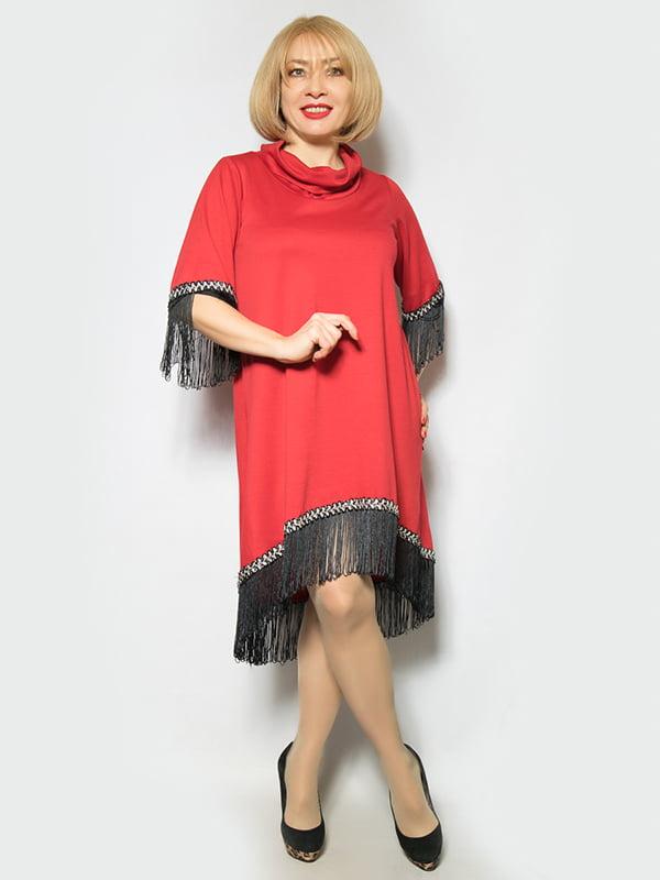 Платье красное | 4839496