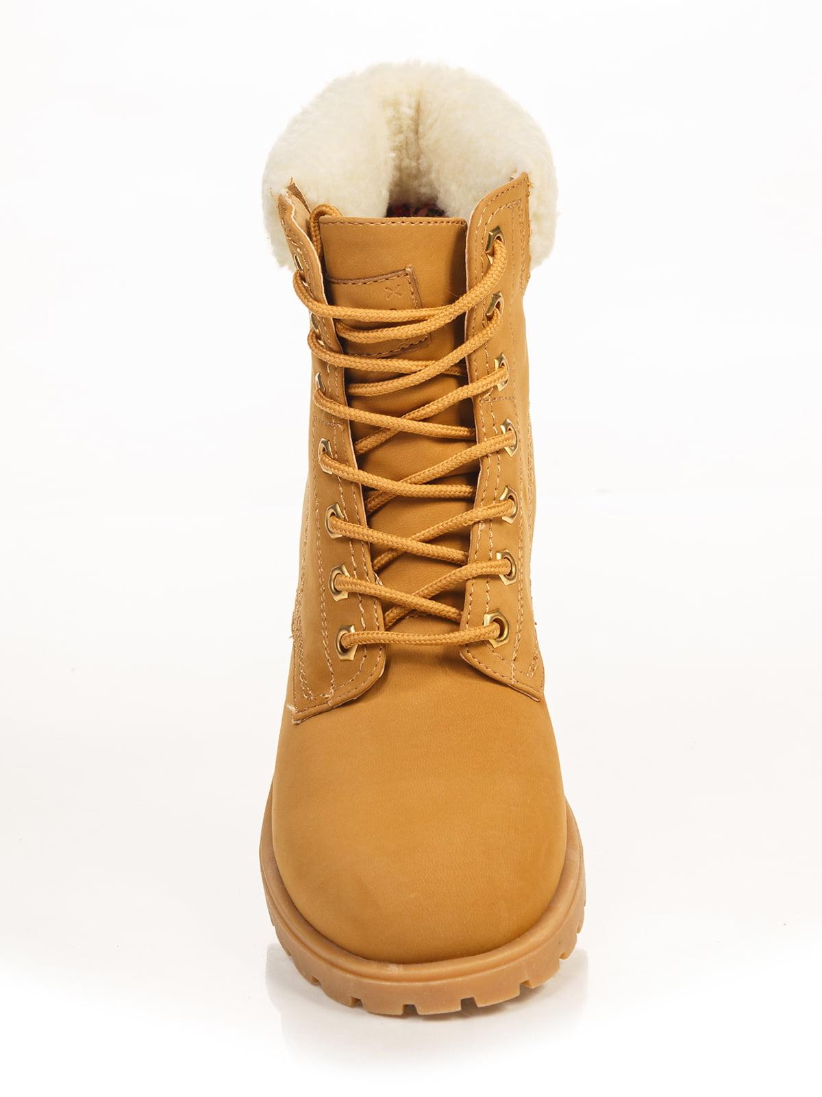 Ботинки коричневые | 2992542 | фото 4
