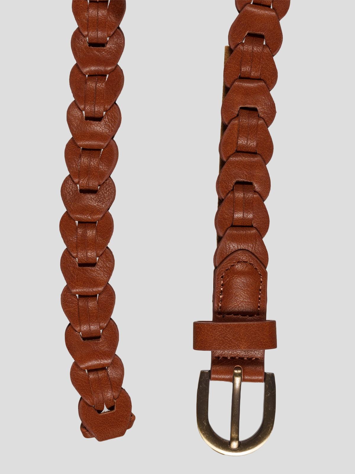 Ремінь коричневий | 2992476 | фото 2