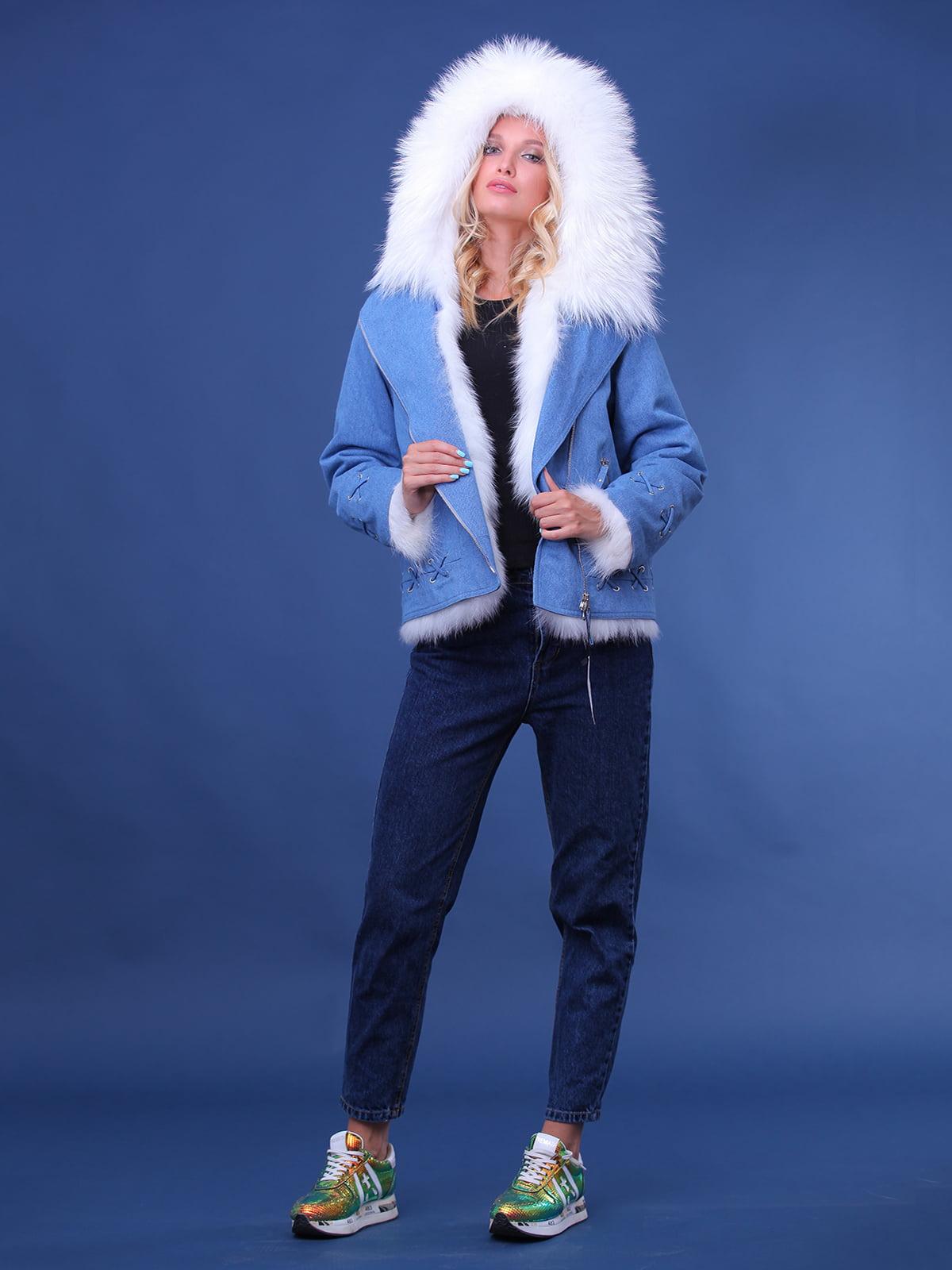 Куртка джинсового цвета | 4834500